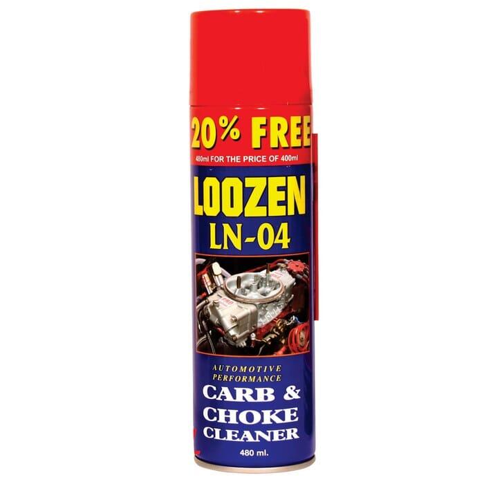 Universal Additive Loozen Ln-04 Carb & Choke Cleaner