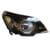 Chevrolet Utility Headlight Black Inside Right