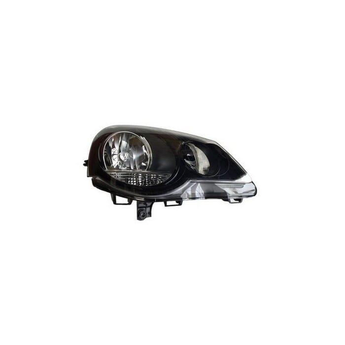 Volkswagen Polo Vivo Headlight Black Inside (depo) Right