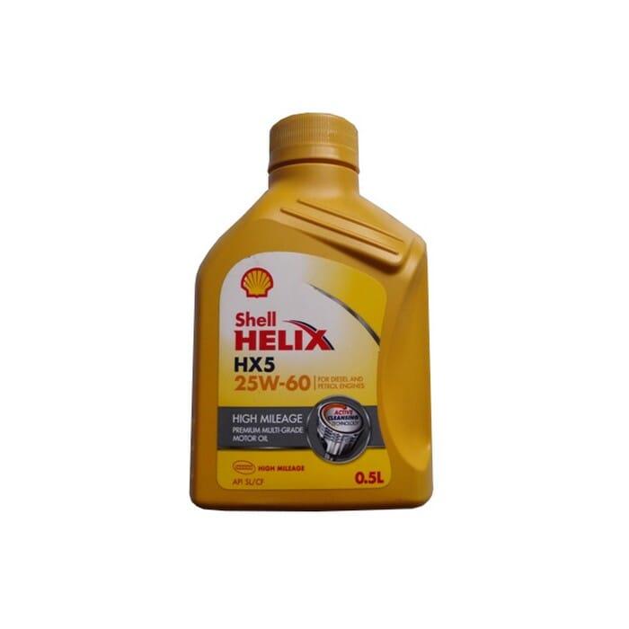 Universal Oil Shell Hx5 High Mileage 25w60 500ml