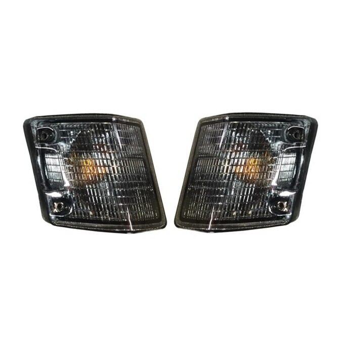 Volkswagen T3 Smokey Corner Light Set (left And Right)