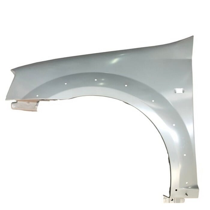 Nissan Np200 Front Fender With Marker Hole With Arch Holes Left