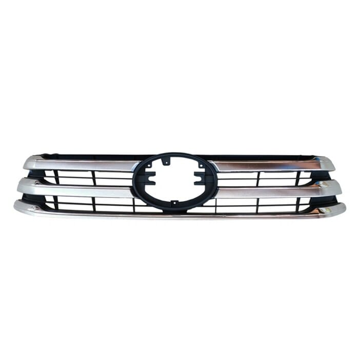 Toyota Hilux Gd Main Grille Black With Chrome Beading