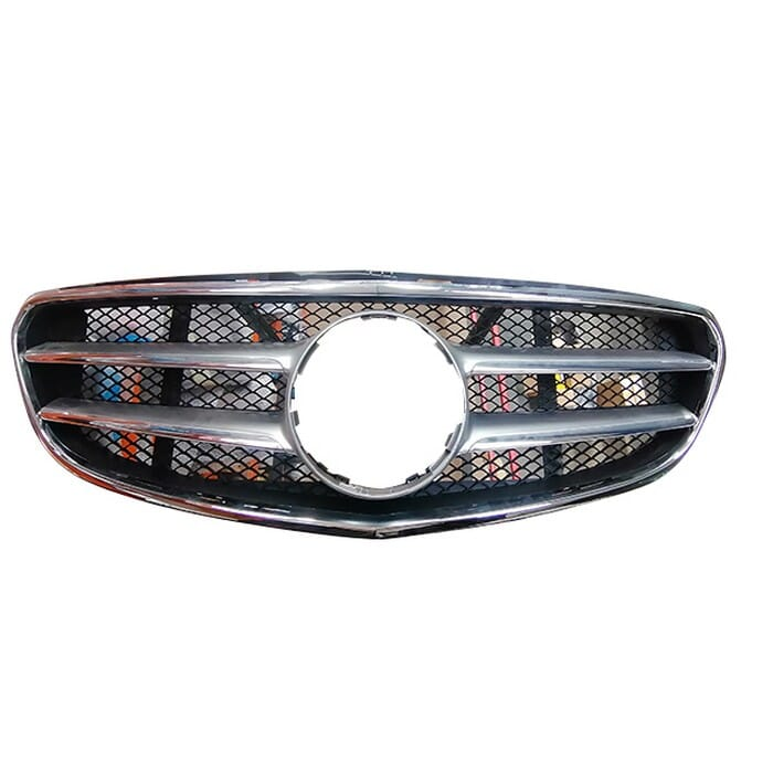 Mercedes-benz W212 E-class Main Grill With Chrome Frame