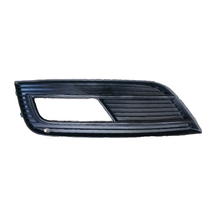 Audi A4 B8 Facelift Front Bumper Grill  With Spot Light Hole Left