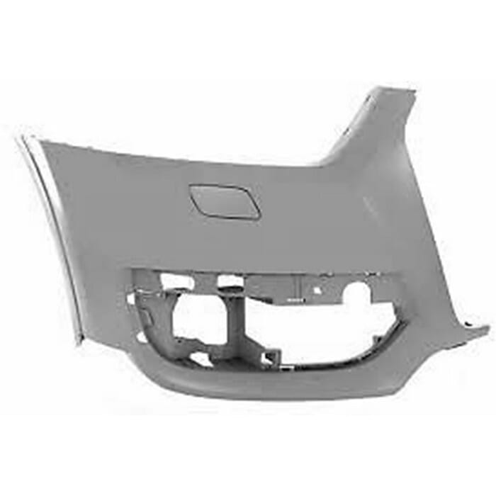 Audi Q3 Front Bumper Takes Washer Right