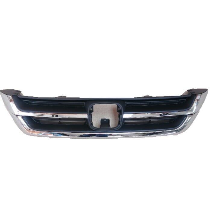 Honda Crv Main Grill With Chrome Beading