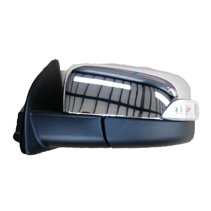 Ford Ranger T6 Door Mirror Electrical  With Indicator Chrome Left