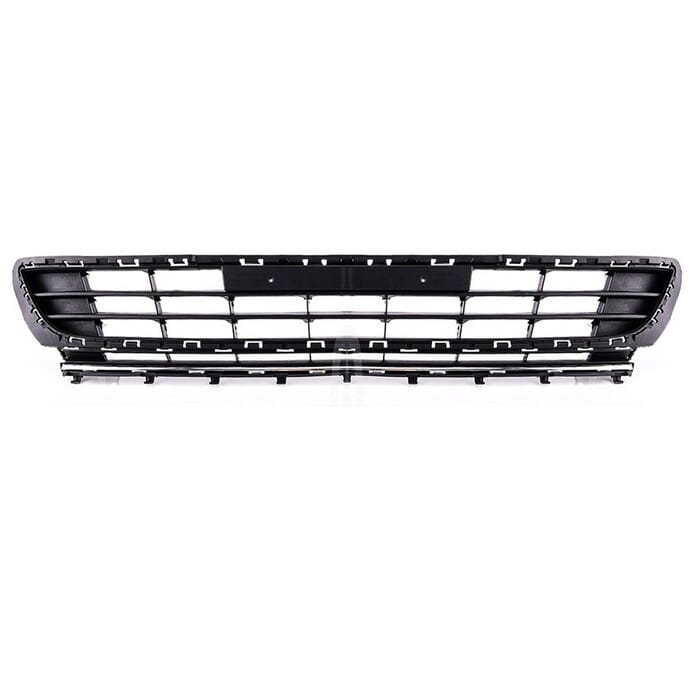 Volkswagen Golf Mk 7 Front Bumper Centre Grille With Chrome Beading