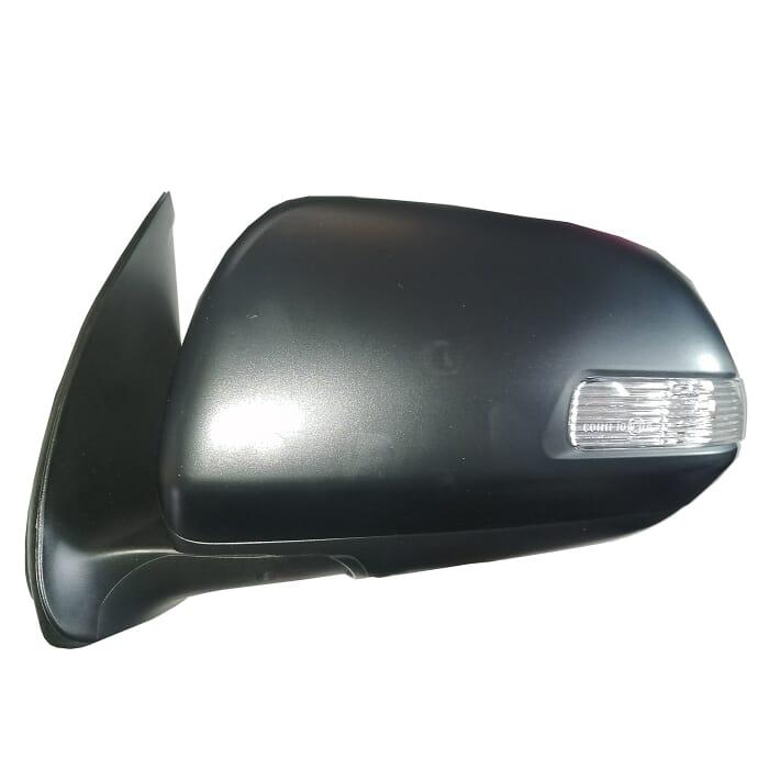 Toyota Fortuner Door Mirror Elec Black With Ind Left