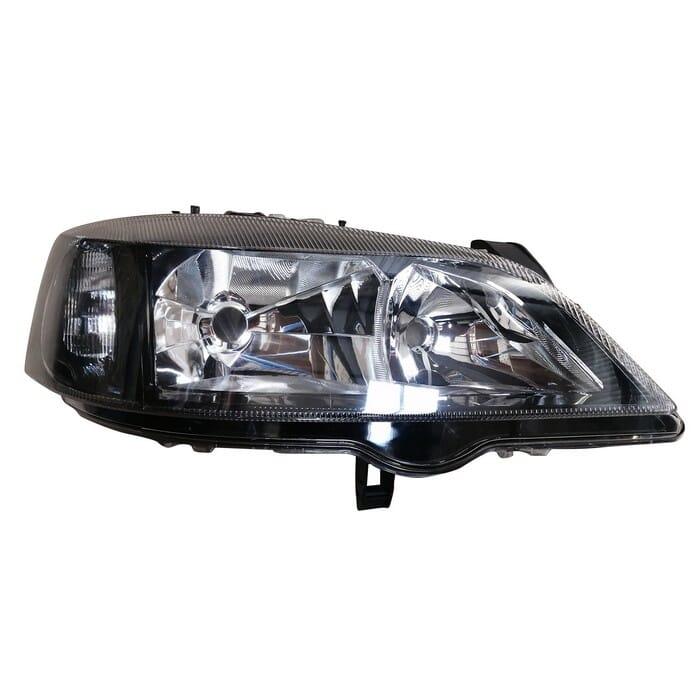 Opel Astra Headlight Black Right