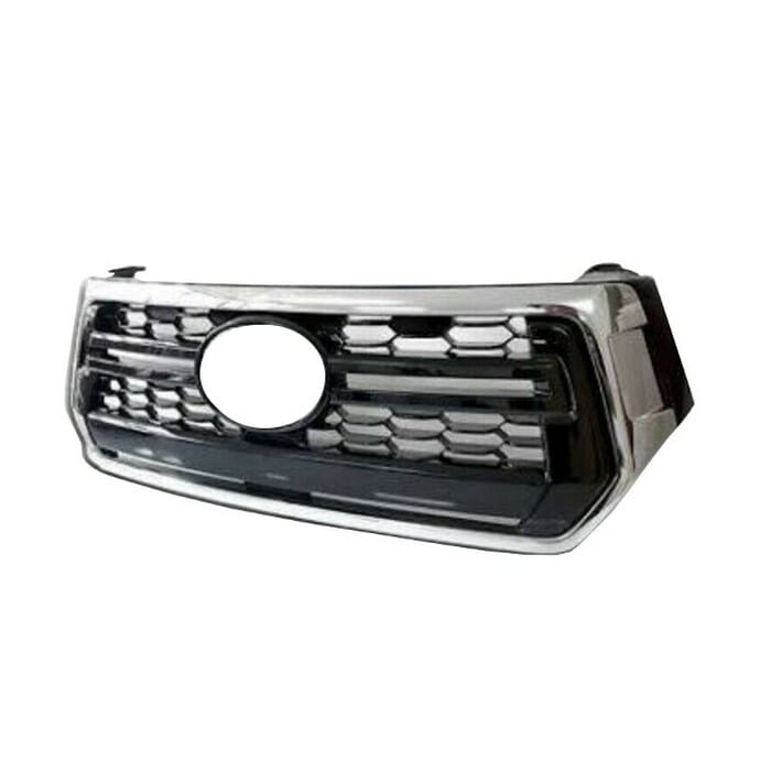 Toyota Hilux Gd Facelift Main Grill Black With Chrome