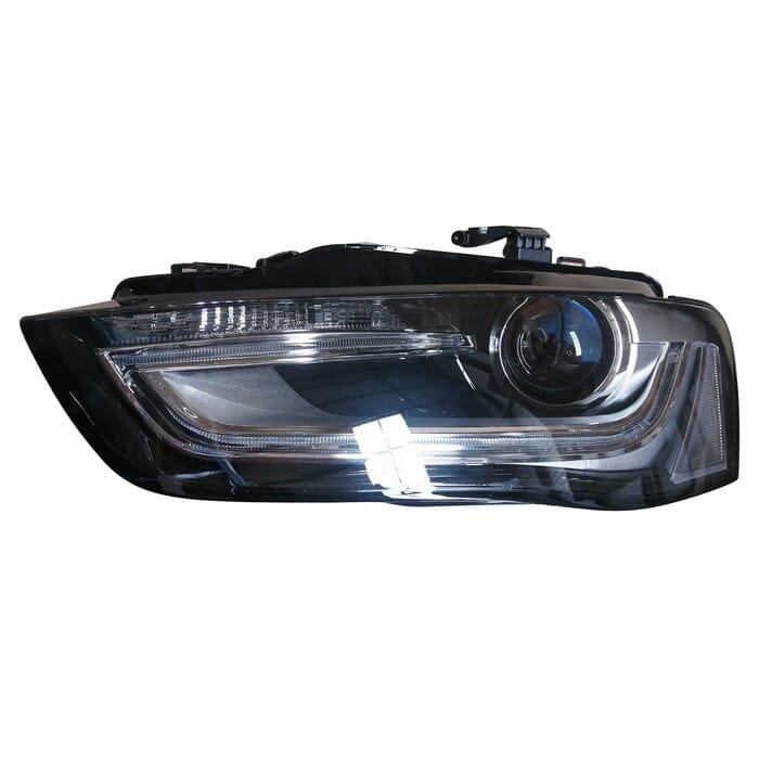 Audi A4 B8 Facelight Headlight Xenon Left
