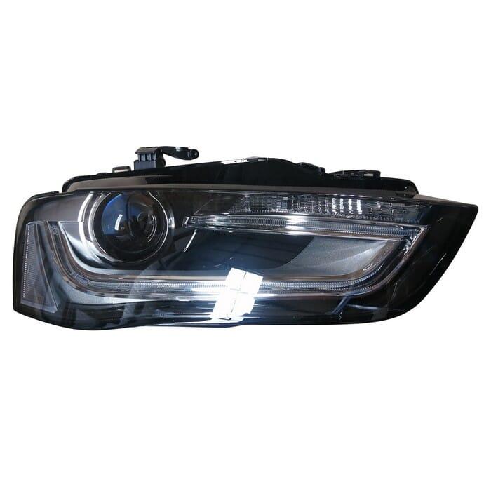Audi A4 B8 Facelight Headlight Xenon Right