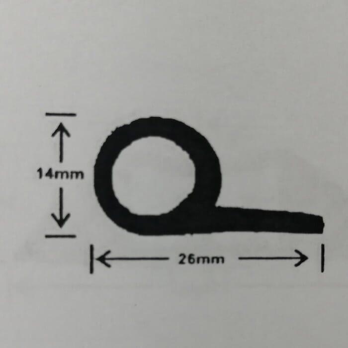 Universal Rubber Universal P Seal Rubber