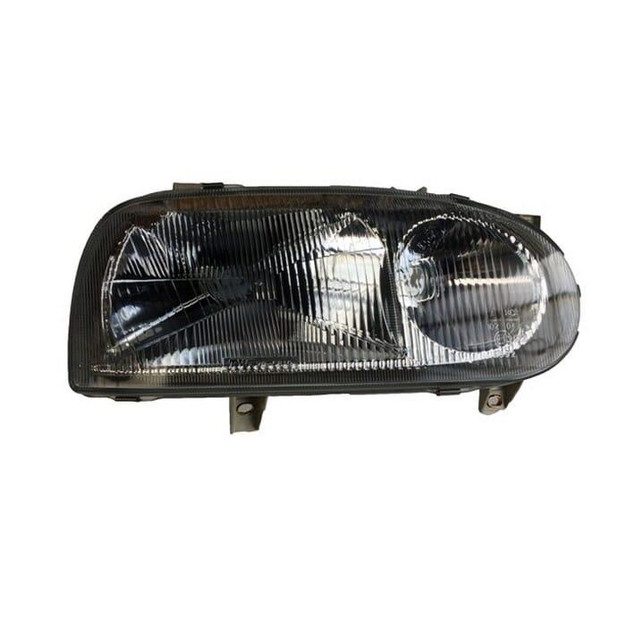 Volkswagen Golf Mk 3 Headlight Takes Spot Light Inside Right