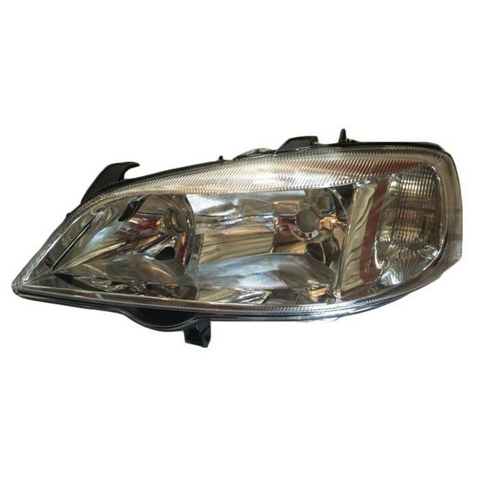 Opel Astra Mk 3 Headlight Electrical Chrome Left