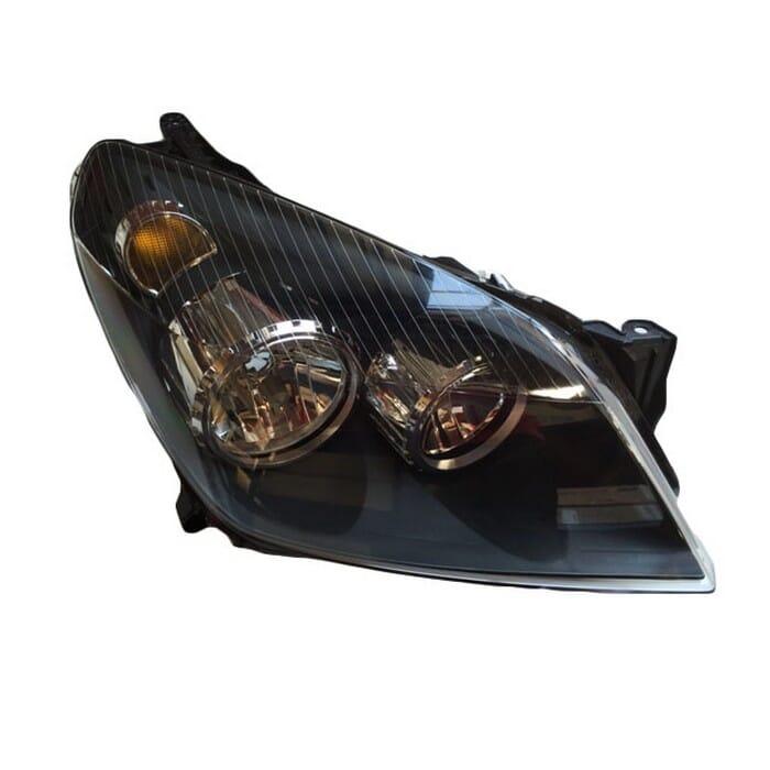 Opel Astra Mk 4 Headlight Black Inside Right