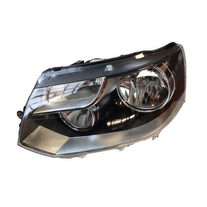 Volkswagen T5 Facelift Headlight Double Beam Left
