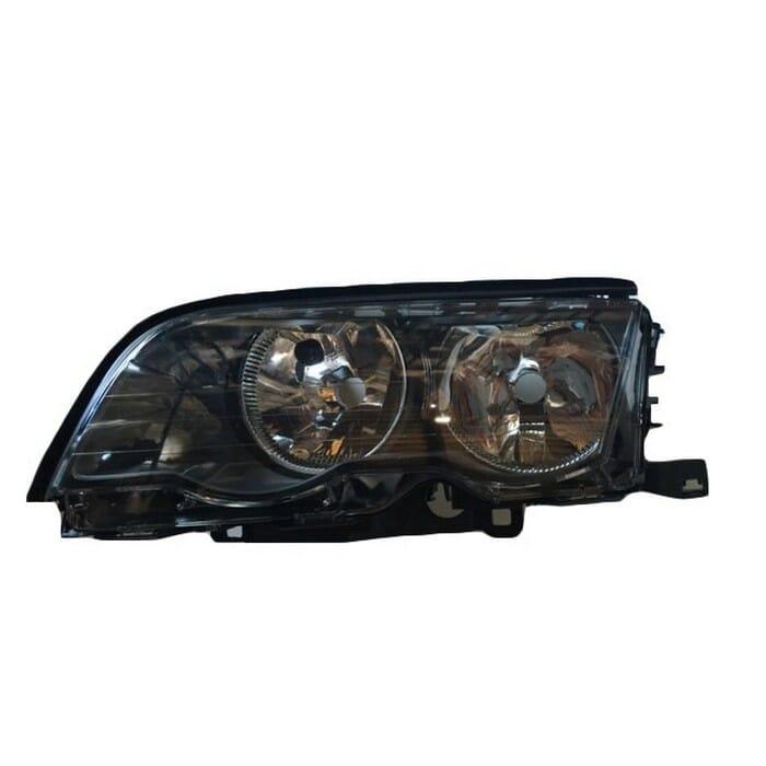 Bmw E46 Preface Headlight Black Inside Left