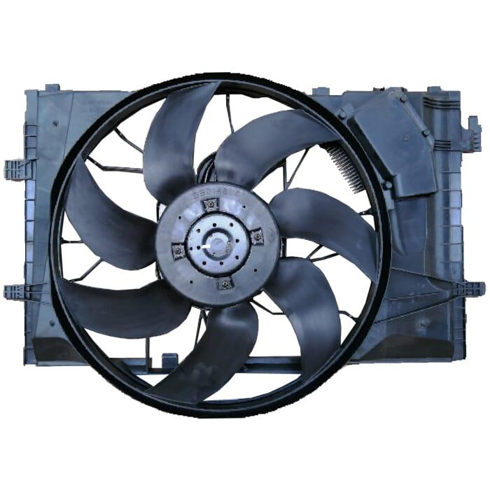 Mercedes-benz W203 1,8-3,2 Radiator Fan Set Electrical Comp