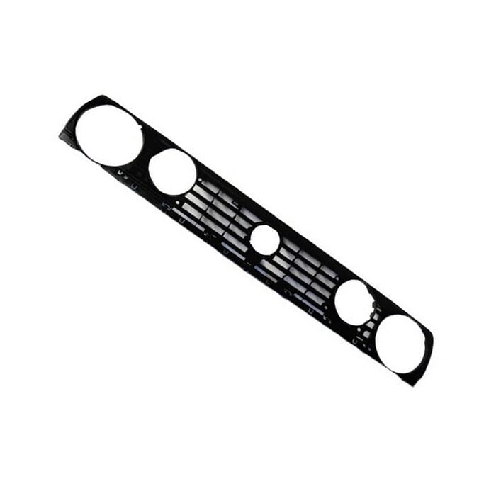Volkswagen Golf Mk 2 Gti Main Grill Double Round With Badge Hole
