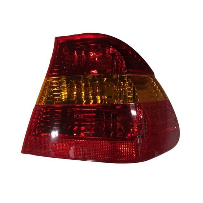 Bmw E46 Facelift Tail Light  Amber And Red  Right 02-06