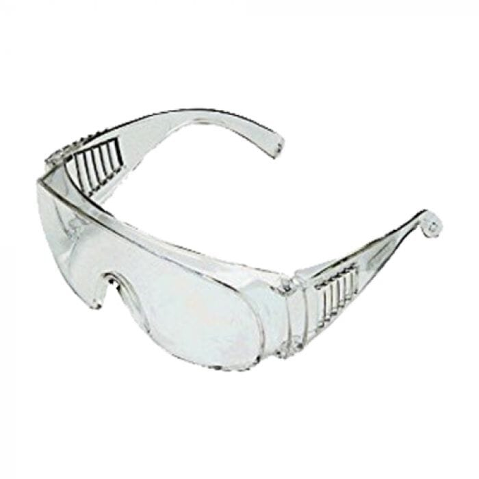 Pinnacle Clear Safety Glasses / Spectacles Wrap around Clear Safety Glasses / Spectacles Wrap around for eye protection when working with hazardous flying material.