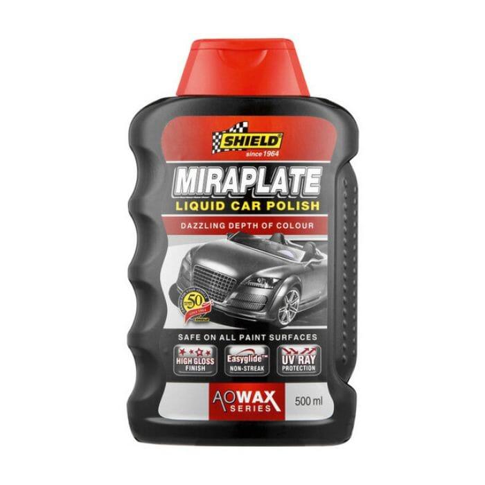 Shield Miraplate Liquid Car Polish - 500ml
