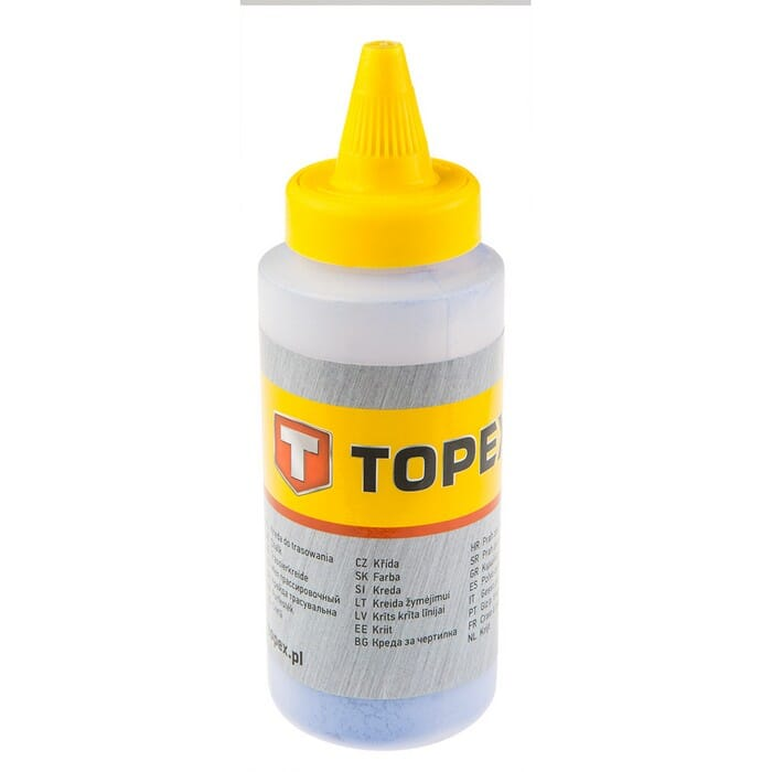 Topex RED CHALK LINE REFILL 115G (30C617)