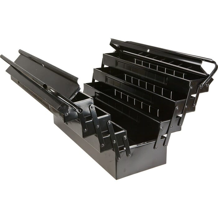 Topex TOOL BOX METAL  7 PARTS LENGTH 55 CM (79R102)