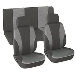 Universal Seat Cover (6 Piece) -Grey
