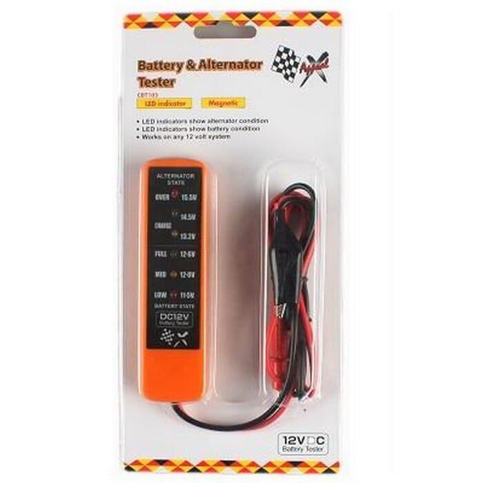 Universal Battery & Alternator Tester,