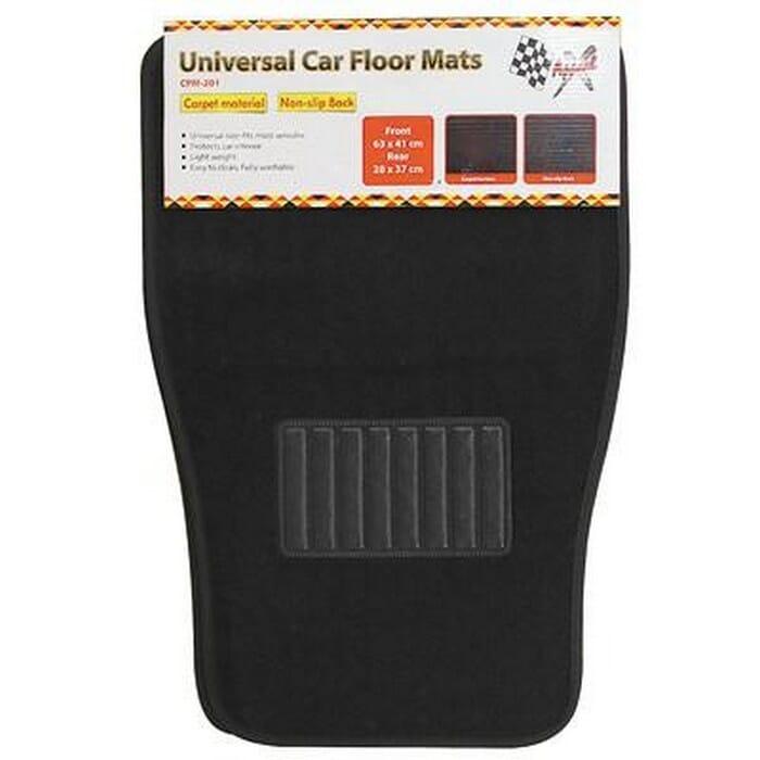 Universal Carpet Mat Set - 4 Piece
