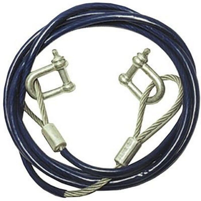 Argus Motoring 5 Ton heavy duty steel towing cable