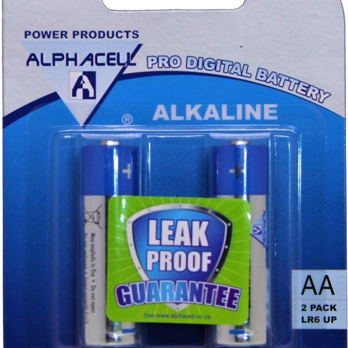 Alphacell Alkaline – Pro Digital Battery – AA (LR6) – 2Pack