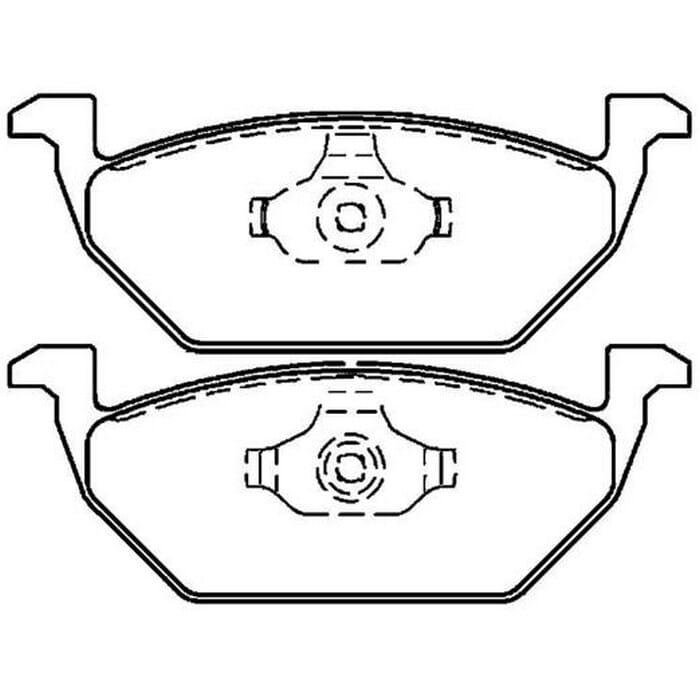 Universal Beetle Brake Pad Front
