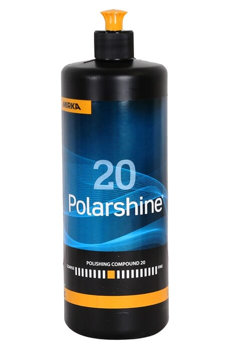 HB Body Mirka Golden Finish Polarshine 20 Compound 1lt