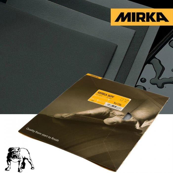 HB Body Mirka Water Paper P600 Per Sheet