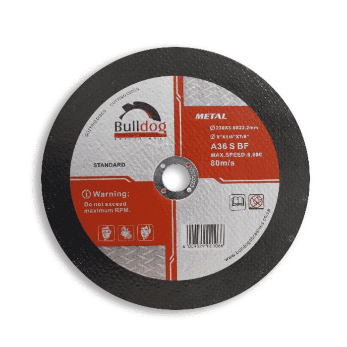HB Body Bulldog Steel Cutting Disc 230mm X 3mm X 22mm (Each)
