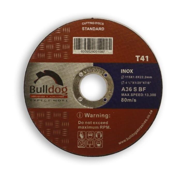 HB Body Bulldog Cutting Disc 115mm X 1.0mm