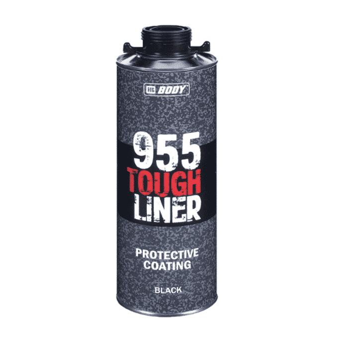 HB Body HB Tough Liner Black 600ml