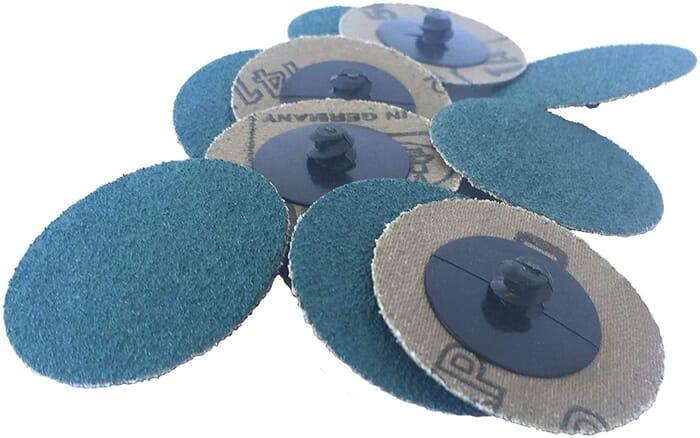 HB Body Garryson Surface Prep Disc 50mm Blue Fine Screw Fit (Each)