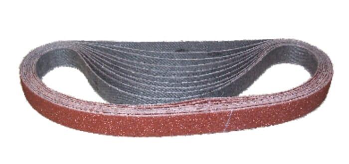 HB Body Portable Sanding Belt 10mm X 330mm P80 (Each)