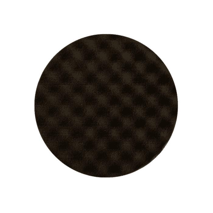 HB Body Mirka Black Waffle Pad 155mm X 22mm (2 Pack)