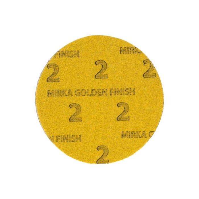 HB Body Mirka Golden Finish Disc 150mm Foam (Each)