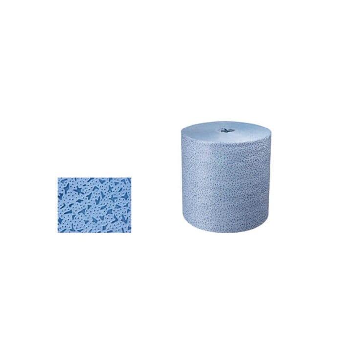 HB Body Car System Bluetex Cleaning Cloth Roll 500Pcs 32cm X 36cm