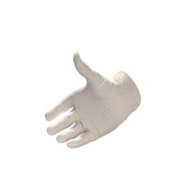HB Body Latex Examination Gloves Powder Free - White (100's)