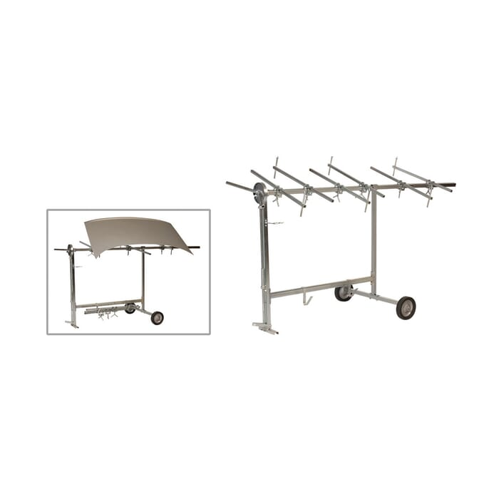 HB Body Car System Panel Paint Stand Incl. Extension