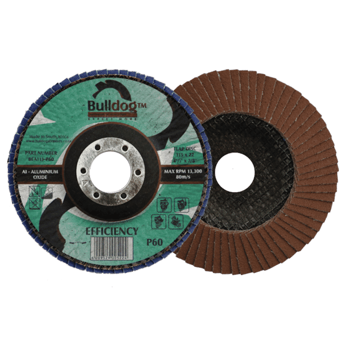 HB Body Bulldog Flapper Disc 115mm x P120